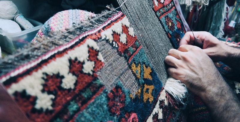 """""""Irana Tappeti"""" persian carpets repair"""