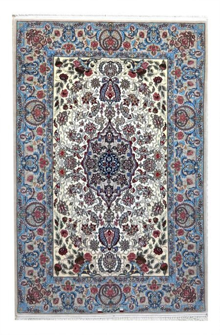 esfahan tram warp silk 150 x 100cm offer €.2650,00
