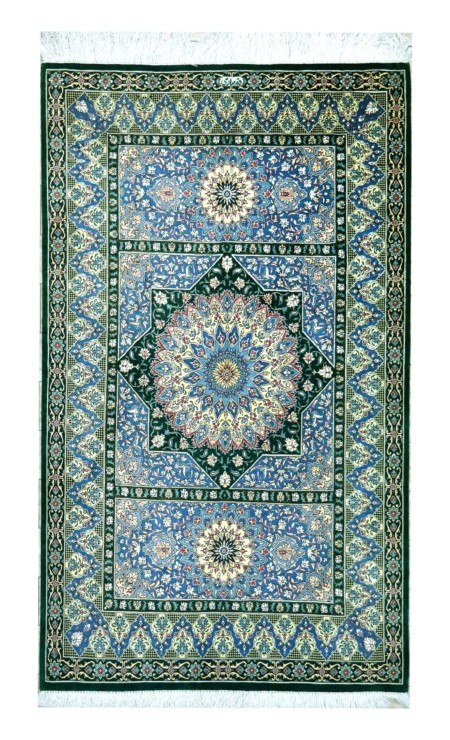 qum extra fine all silk , 120 x 80cm