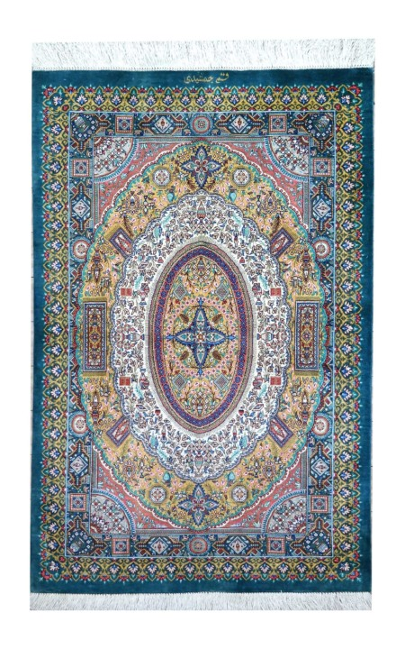 qum all silk extra fine 119 x 78cm