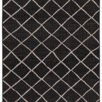 VERANDA_des20310-B-R-1 BLACK SILVER 160X230