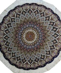 Tabriz round carpet
