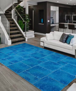 extra fine Patchwork carpet