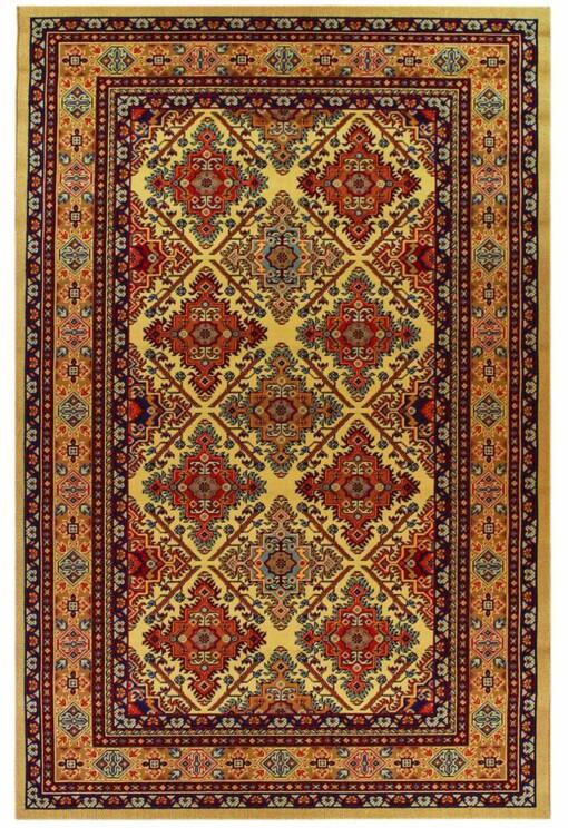 Mechanic loom Kazak carpet