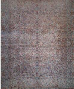 Antique Kerman Ravar carpet